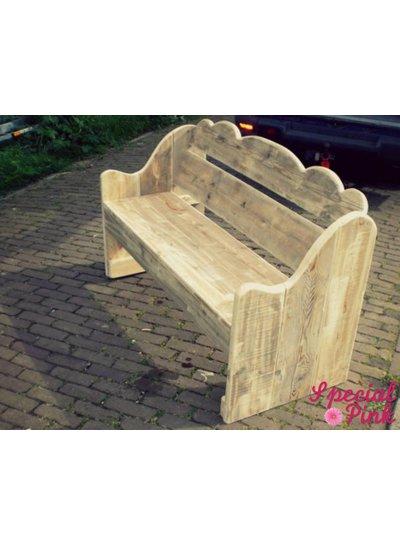 Tuinbank Tess van steigerhout