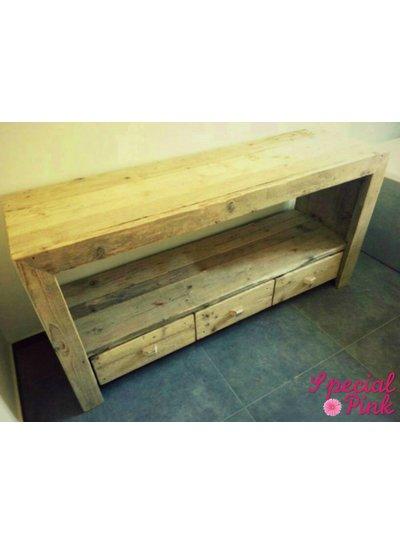 Badkamermeubel Fedor van steigerhout