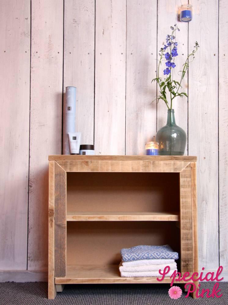 badkamerkast van steigerhout, goedkoop bij special pink! - special, Deco ideeën