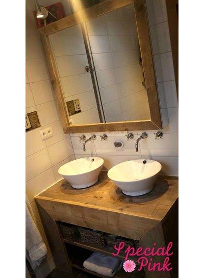 Badkamermeubel Fokke van steigerhout