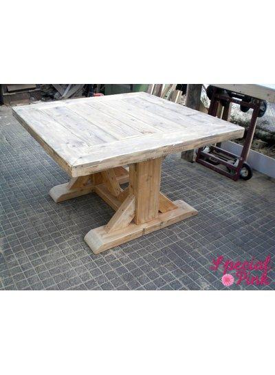 Eettafel Bob van steigerhout
