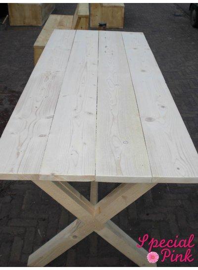 Eettafel Bep van steigerhout