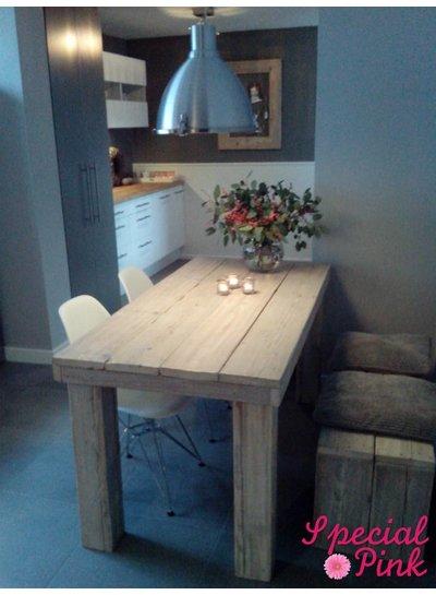 Eettafel Beau van steigerhout
