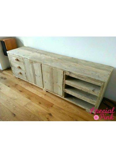 Tv meubel Koen van steigerhout