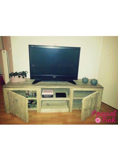 Tv meubel Kate van steigerhout