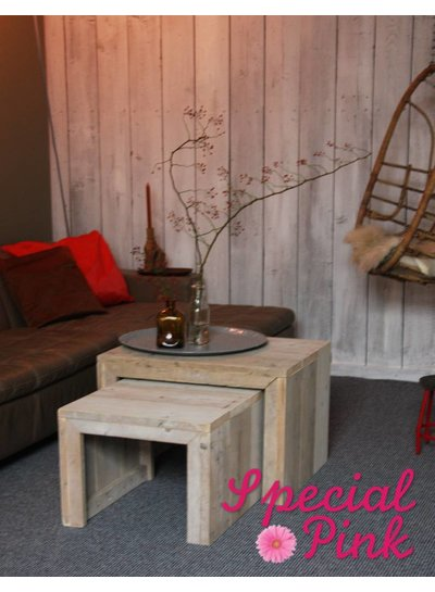 Salontafel Jasper van steigerhout