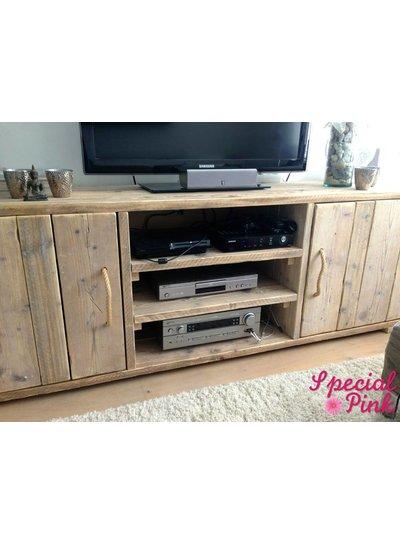 Tv meubel Kees van steigerhout