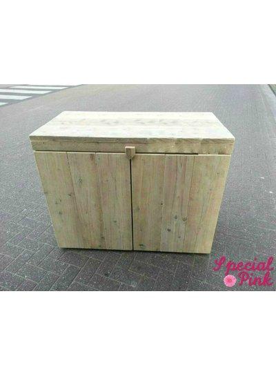 Commode Ciske van steigerhout