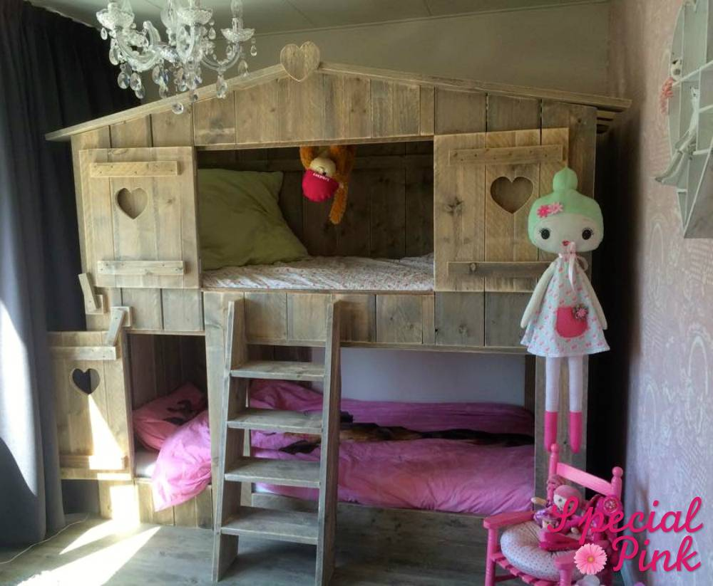Originele boomhutbed sjors, te koop bij special pink!   special pink
