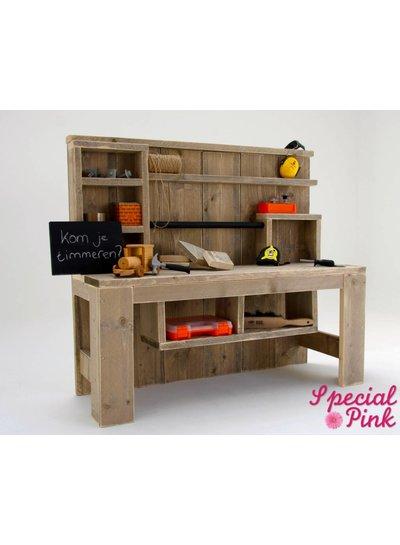 woonkamer speelhoek steigerhout. Black Bedroom Furniture Sets. Home Design Ideas