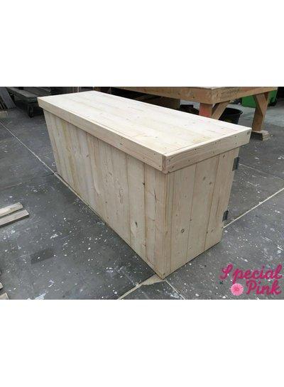 Verkoopbalie nieuw hout