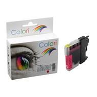 Toners-kopen.nl Premium Colori Alternativ Patrone für Brother LC 980 985 1100 Magenta