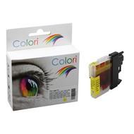 Toners-kopen.nl Premium Colori Alternativ Patrone für Brother LC 980 985 1100 Gelb