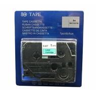 Toners-kopen.nl Schriftbandkassette Alternativ voor Brother Tze731 Schwarz auf Grün