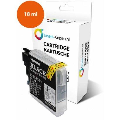 Toners-kopen.nl Huismerk inkt cartridge voor Brother LC 980 LC 985 LC 1100 zwart