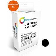 Toners-kopen.nl Huismerk inkt cartridge zwart voor HP 300XL 19ML met niveau-indicator wit Label