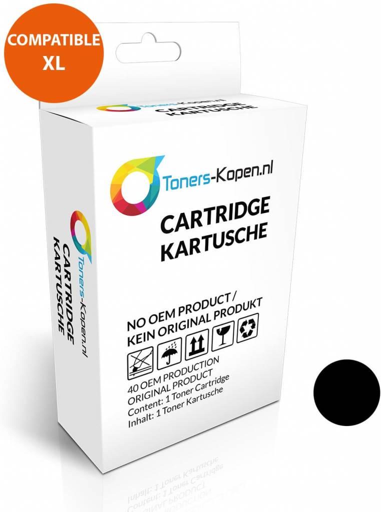 huismerk inkt cartridge voor Epson C13T70214010 T7021 zwart