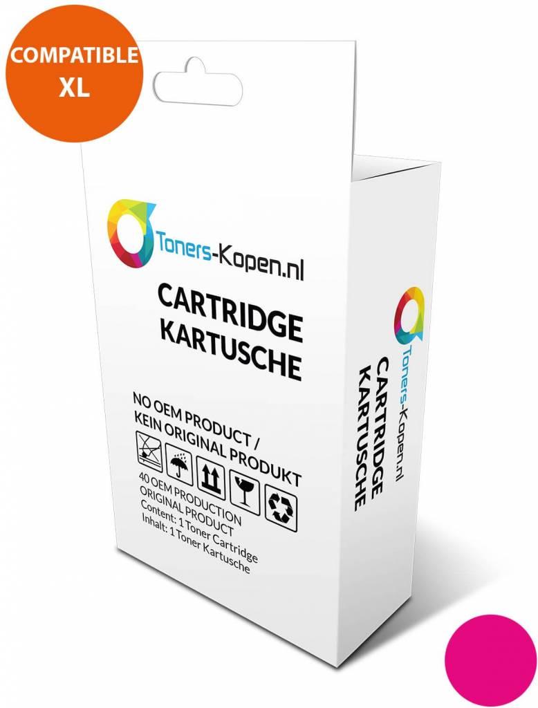 huismerk inkt cartridge voor Hp 88XL magenta wit Label