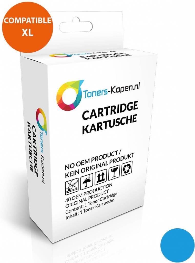huismerk inkt cartridge voor Hp 88XL cyaan wit Label