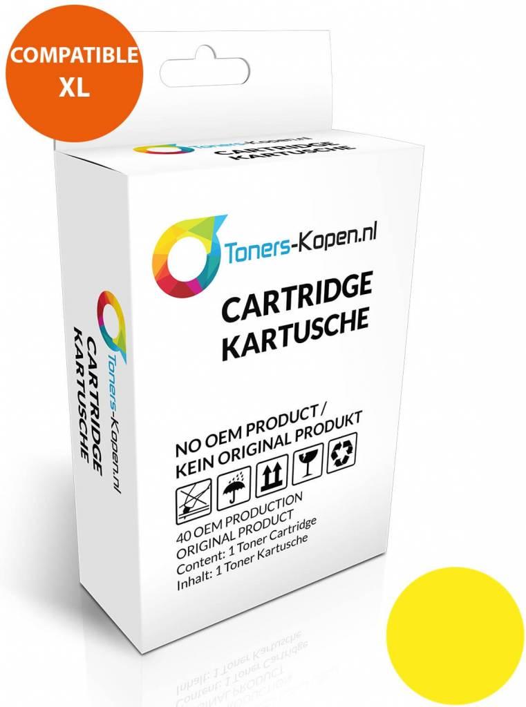 huismerk inkt cartridge voor Hp 88XL geel wit Label