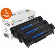 Toners-kopen.nl Set 2x Huismerk toner Hp 85A Ce285A Laserjet Pro P1002 (Double pack) Zwart