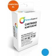 Toners-kopen.nl Alternativ Druckerpatrone für Brother LC 980 985 1100 Cyan White Label
