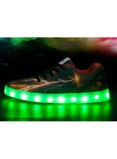 Trimodu LED Schuhe flame