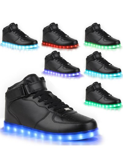 Trimodu LED Schuhe black S13
