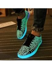 Trimodu Trendige Sneakers fluoreszierend