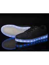 Trimodu LED Schuhe black/ perforiert