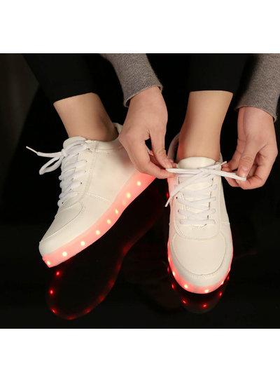 Trimodu LED Schuh classic white