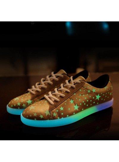Trimodu Sneakers fluoreszierend