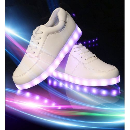 LED Schuh classic white