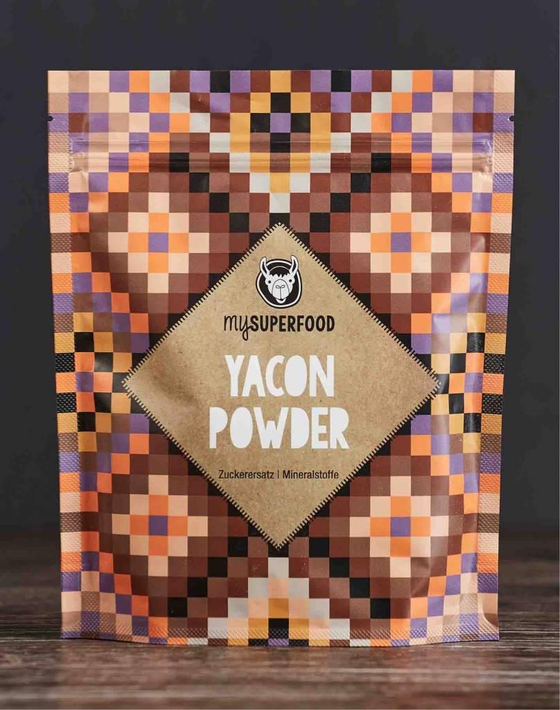 Poudre de Yacon Bio, 200 g