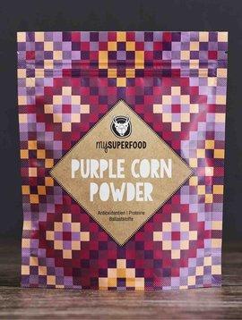 Poudre de maïs violet