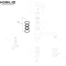 Nobili Nobili ringenset palladio by Pininfarina