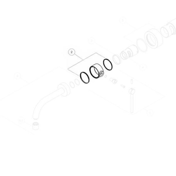 Nobili Nobili ring sets for lever PL00198