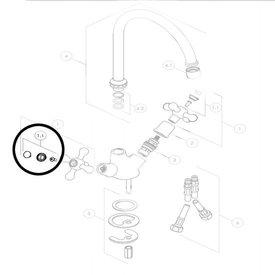 Nobili afdekplaatje greep Grazia GRC5117