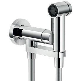 Nobili Toiletdouche met warm koud water mengkraan