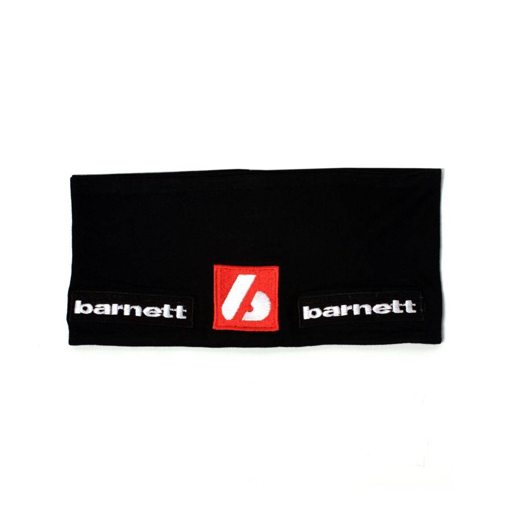 barnett M1 Повязка на голову из лайкры, чёрная/белая
