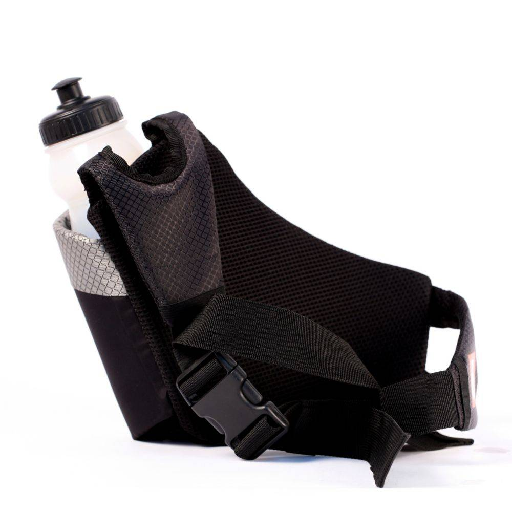 BACKPACK-04 Набедренная сумка для велосипедной фляги, размер L, цвет чёрный