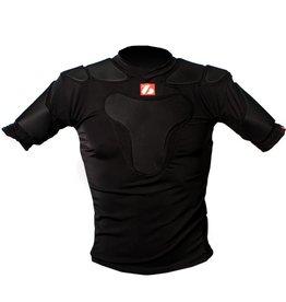 barnett RSP-PRO 5 Профессиональный каркас для регби с пятью защитными пластинами, цвет черный
