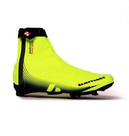 barnett BSP-05 Водоотталкивающие велосипедные чехлы на ботинки, цвет неоновый жёлтый