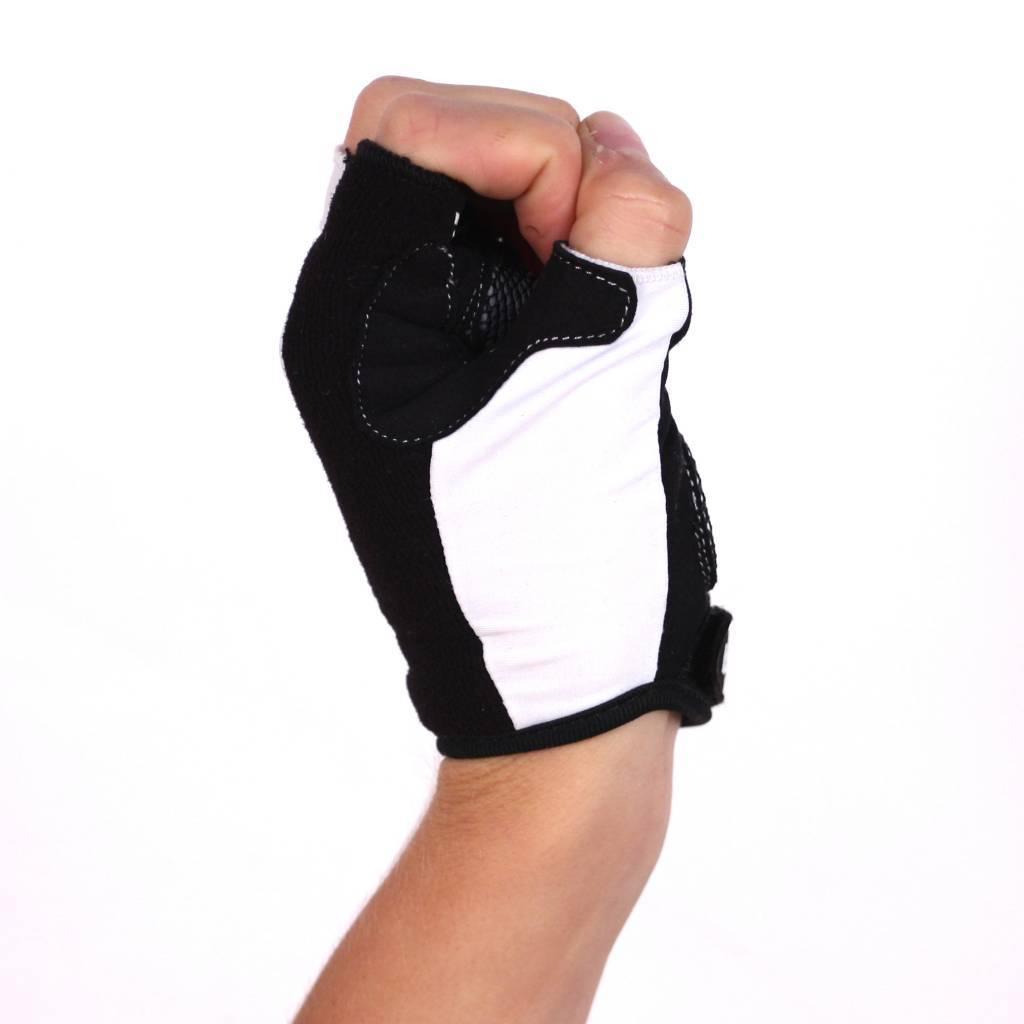 barnett BG-02 Перчатки для велоспорта, белые