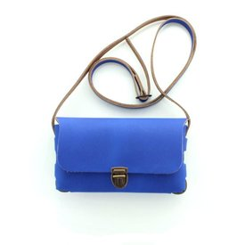 Pelle, Leren Tas Royal Blue