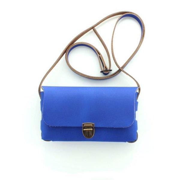 Pelle, Leren Tas Royal Blue