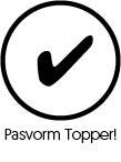 Pasvorm Topper