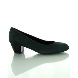 Como Scarpe Como Scarpe, Suède Pumps Bottlegreen