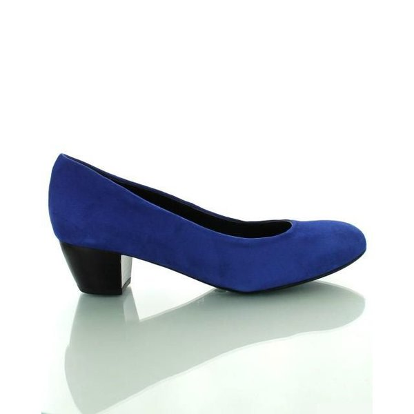 Como Scarpe Como Scarpe, Suède Pumps Royal Blue