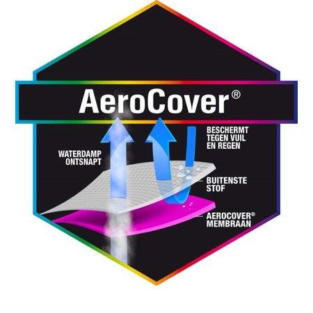 AeroCover Tuinmeubelhoezen Beschermhoes Tuinset 320 ø x 85 cm
